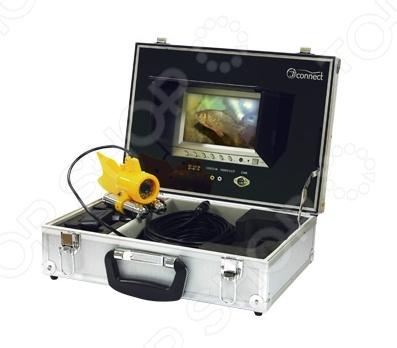 Камера для подводной съемки JJ-Connect Underwater Camera ColorПодводные видеокамеры и аксессуары<br>Камера для подводной съемки JJ-Connect Underwater Camera Color это высококлассная аппаратура для видеонаблюдения, которая специально разработана для подводных съемок высокого качества. Состоит из большого цветного семидюймового монитора и специальной подводной камеры. Компоненты аппаратуры размещены в прочном защитном алюминиевой кейсе, который обеспечивает надежную защиту от механический повреждений и быструю настройку камеры. Для функционирования системы необходим источник постоянного тока с напряжением 11 15 В, а так как большинство моторных лодок имеют бортовую систему с напряжением в 12 В, установка камеры не потребует дополнительных затрат и множества элементов питания. Качественный ЖК-монитор обеспечивает наиболее адекватную и полную картинку, без помех и искажений. На камере дополнительно установлены 24 ярких белых светодиода, которые гарантируют эффективное освещение под водой. Водонепроницаемый корпус камеры выполнен из прочного и качественного АБС-пластика и гарантирует долгий и качественный срок службы. Широкий объектив обеспечивает максимальный угол обзора. Аппаратура оснащена двойными грузилами, которые делают камеру устойчивой при быстрой воде, что позволяет снимать даже на дне реки. Максимальный радиус действия составляет 20 метров. Под водой камера управляется в ручном режиме при помощи перемещения шнура.<br>