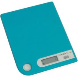 фото Весы кухонные First 6401-1. Цвет: голубой