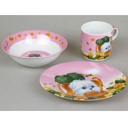 фото Набор посуды для детей Rosenberg 8762