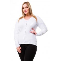 фото Жакет Mondigo XL 9130. Цвет: белый. Размер одежды: 48