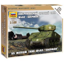 фото Сборная модель танка Звезда «Шерман»