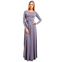 фото Платье Mondigo 7003. Цвет: серый. Размер одежды: 46