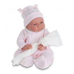 фото Кукла интерактивная Munecas Antonio Juan «Ника». Цвет: розовый