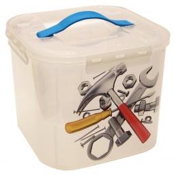 фото Контейнер для хранения мелочей с вкладышем IDEA «Деко. Инструменты». Объем: 7 л