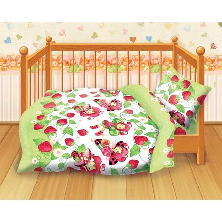 Купить Детский комплект постельного белья Кошки-Мышки Клубничка