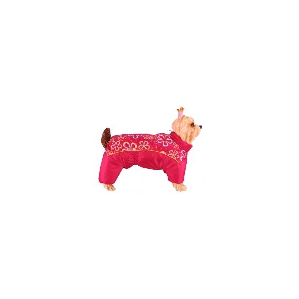 фото Комбинезон-дождевик для собак DEZZIE «Вест-хайленд-уайт-терьер». Цвет: красный. Материал подкладки: синтепон