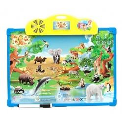 фото Доска интерактивная обучающая Shantou Gepai «Зоопарк» 7172