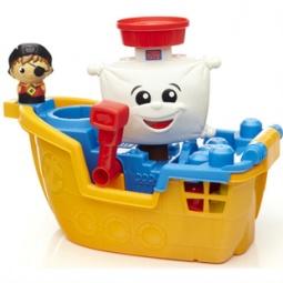 Купить Конструктор для ванной Mega Bloks «Пиратский корабль»