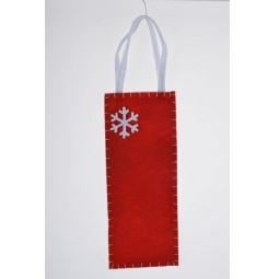 фото Мешок для подарков Феникс-Презент «Снежинка» 38647