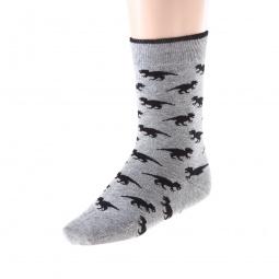 Купить Комплект детских носков Teller Dino. Цвет: серый, синий