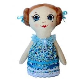 Купить Подарочный набор для изготовления текстильной игрушки Кустарь «Леночка»