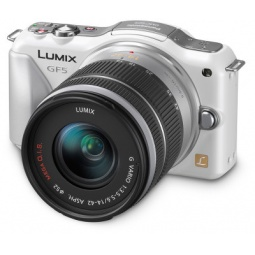 фото Фотокамера цифровая Panasonic Lumix DMC-GF5KEE Kit 14-42 mm. Цвет: белый