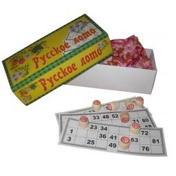 Купить Игра «Русское лото». Материал: дерево