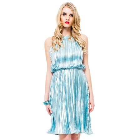 Купить Платье Mondigo 8681. Цвет: синий