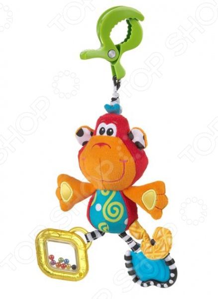 Игрушка-подвеска мягкая Playgro «Обезьянка»