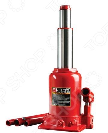 Домкрат гидравлический бутылочный с клапаном Big Red TF0602 домкрат белак бак 10044 8т