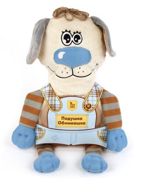 Подушка-игрушка Fluffy Family «Собака» 681172Подушки детские<br>Подушка-игрушка Fluffy Family Собака 681172 станет лучшим другом для вашего малыша! С таким обаятельным песиком любое путешествие по плечу, а если в дороге вдруг настигнет усталость, то верный друг превратится в уютную подушечку, благодаря которой ребенок сможет хорошо выспаться и набраться сил. У игрушки две мордочки: одна улыбающаяся, а другая с закрытыми глазками.<br>