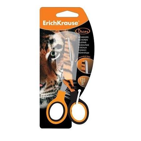 Купить Ножницы декорированные Erich Krause «Тигр»