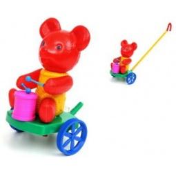фото Каталка для малыша Suchanek «Мишка с барабаном»