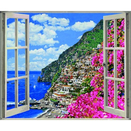Купить Набор для рисования по номерам Schipper «Позитиано на Амальфийском побережье»