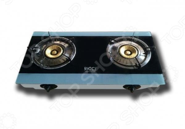 Плита настольная газовая Ricci RGH-604B настольная плита clatronic dkp 3583 weib