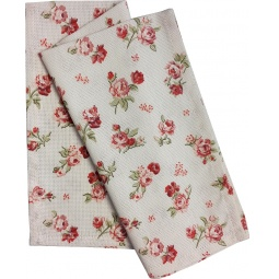 Купить Полотенце из рогожки BONITA «Розы»