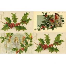 Купить Декупажная карта Karalliki «Christmas Greetings