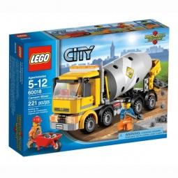 фото Конструктор LEGO Бетономешалка
