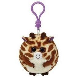 фото Мягкая игрушка с клипсой TY Жираф TIPPY. Высота: 6,5 см
