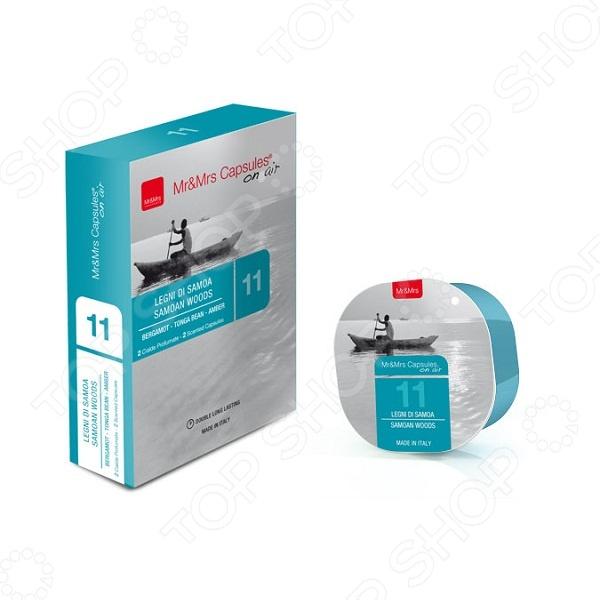 фото Арома капсулы для диффузора Mr&Mrs Fragrance Samoan Woods, Ароматизаторы воздуха