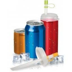 фото Набор: 2 соломки для напитков и крышка Bradex TK 0161