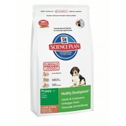 фото Корм сухой для щенков средних пород Hill's Science Plan Puppy Medium с ягненком и рисом. Вес упаковки: 3 кг