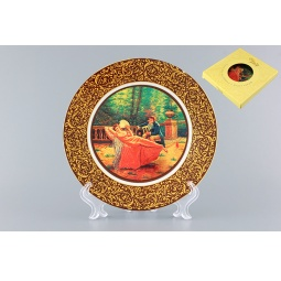 Купить Тарелка декоративная Elan Gallery «Влюбленная парочка в саду»