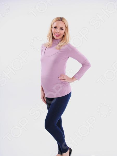 Леггинсы для беременных Nuova Vita 5202.42. Цвет: синий футболка для беременных nuova vita 1226 01 цвет чёрный