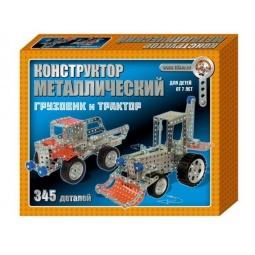 Купить Конструктор металлический Десятое королевство «Грузовик и трактор»