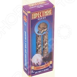 Лакомство для крыс и мышей Престиж 80228 аппетитное угощение для вашего питомца. Есть множество способов проявить свою заботу в отношении домашнего любимца. Угощение лакомством окажется наиболее приятным и полезным поощрением для вашего грызуна. Изделие выполнено в виде твердых палочек, способствующих стачиванию зубов.