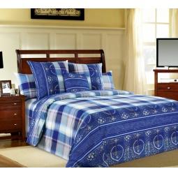 фото Комплект постельного белья Белиссимо «Импульс синий». 2-спальный