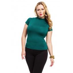 фото Водолазка Mondigo XL 037. Цвет: темно-зеленый. Размер одежды: 52