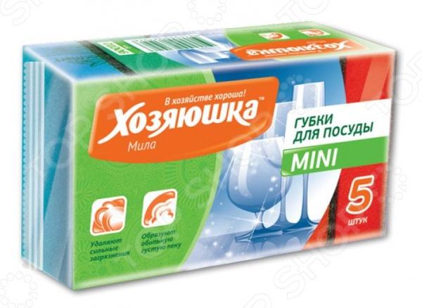 Губка для посуды Хозяюшка 01006 хозяюшка мила губка д посуды люкс 3шт 1108971