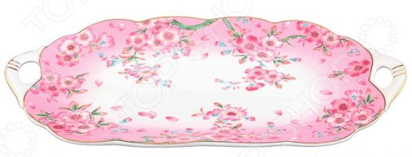 Блюдо сервировочное для нарезки Elan Gallery «Сакура» 740160Сервировочные блюда и тарелки<br>Блюдо сервировочное для нарезки Elan Gallery Сакура 740160 это оригинальный вариант сервировки праздничного стола, который позволит подчеркнуть не только вкус блюда, но и его красоту. Посуда идеально подходит как для праздничного стола, так и для ежедневного украшения ужина. Такая сервировка привнесет разнообразие в приготовление ваших любимых блюд, а гости точно отметят хороший вкус с выборе посуды для подачи. Вне зависимости от того, каким угощением вы хотите сегодня порадовать свою семью, помните, что очень важно уделять внимание посуде, чтобы получить истинное удовольствие от каждой трапезы! Материал абсолютно безопасен и не вступает в реакцию с продуктами, а так же не влияет на запах и вкус готового блюда. Симпатичный узор позволит подчеркнуть общий дизайн стола, скатерти и другой посуды. После использования вы сможете легко очистить блюдо традиционным способом, не рекомендуется использовать абразивные моющие средства. При необходимости вы можете сразу сервировать нарезку сыра или колбас и порадовать своих гостей!<br>