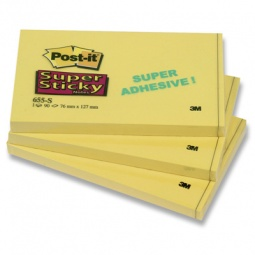 фото Блок-кубик для заметок Post-it 655-S