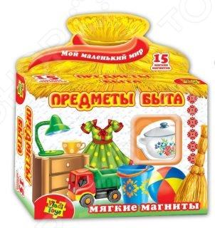 Игра развивающая на магнитах Vladi Toys «Предметы быта»