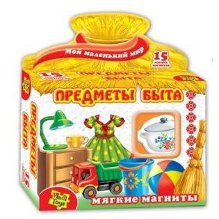 Купить Игра развивающая на магнитах Vladi Toys «Предметы быта»