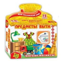 фото Игра развивающая на магнитах Vladi Toys «Предметы быта»