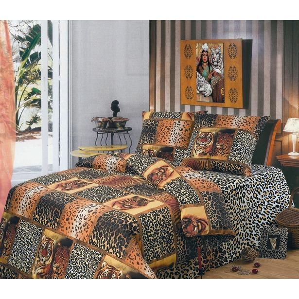 фото Комплект постельного белья Живая планета Сафари. 2-спальный