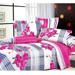 фото Комплект постельного белья Tiffany's Secret «Орхидея». 2-спальный. Размер наволочки: 70х70 см — 2 шт