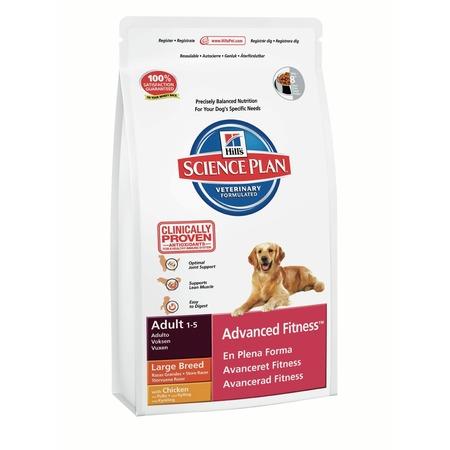 Купить Корм сухой для собак крупных пород Hill's Science Plan Advanced Fitness с курицей
