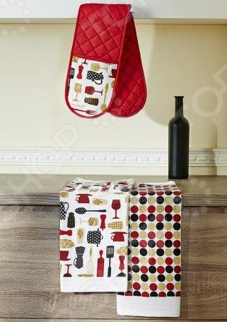 Набор кухонный: прихватка двойная и 2 полотенца Primavelle «Дизайн» полотенца yagmur полотенце sandpoint набор