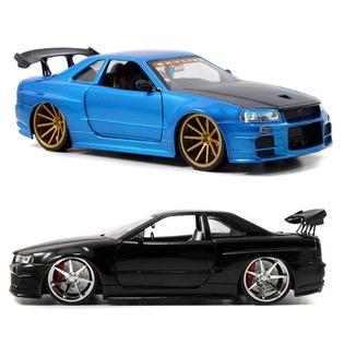 Купить Модель автомобиля 1:24 Jada Toys Nissan GT-R R34 2002. В ассортименте