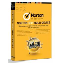 Купить Антивирусное программное обеспечение Symantec Norton 360 Multi Device 1.0 RU 1 User 5LIC 1C MM